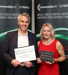 Renewable UK CYMRU: Celebration of Wales' Green Energy Awards 2015