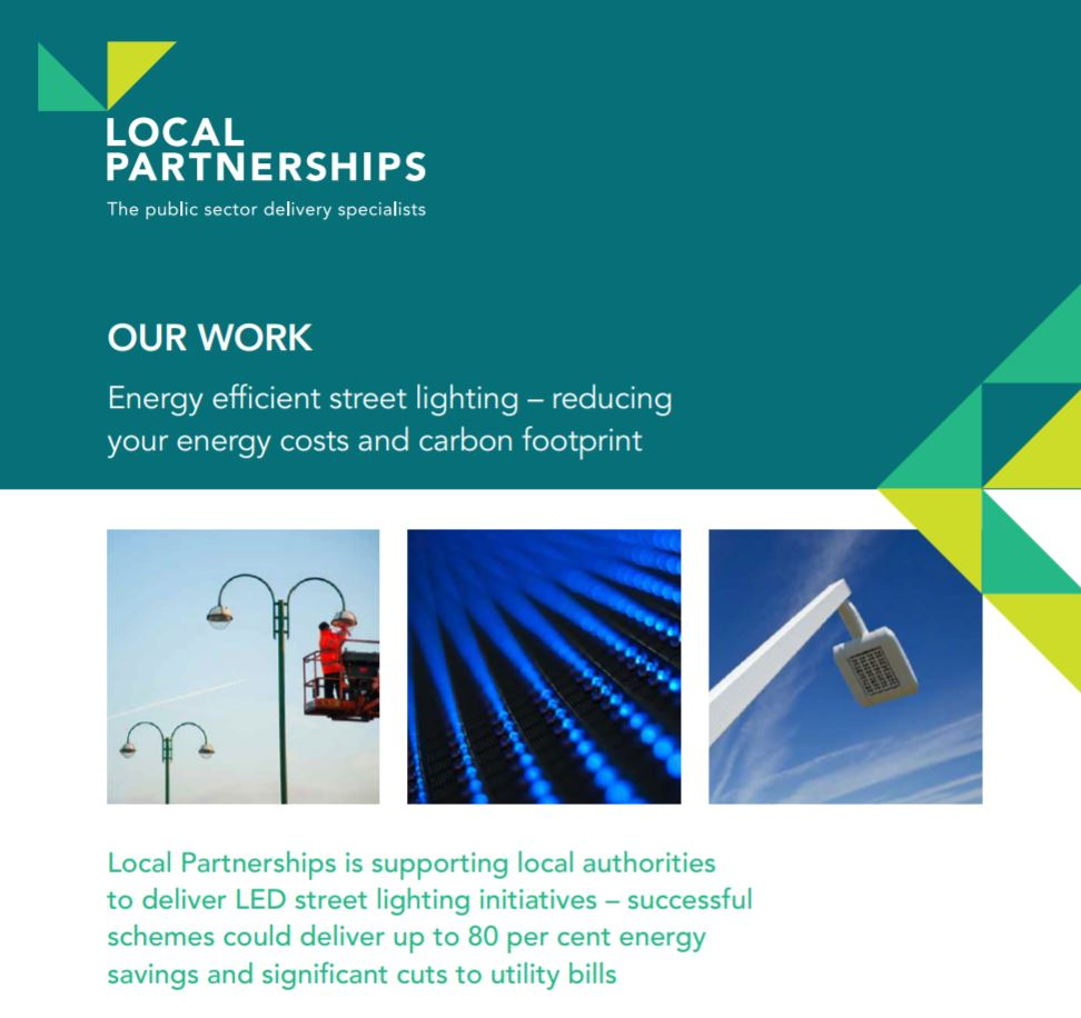 Energy efficient street lighting – reducing energy costs and carbon footprint
