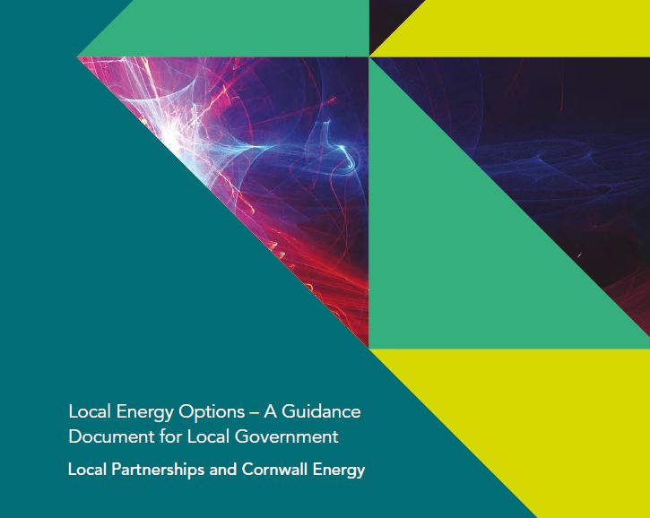 Local Energy Options – A Guidance Document for Local Government