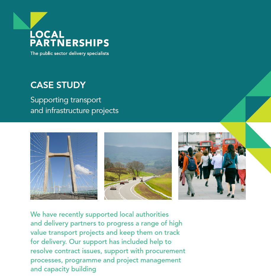 CASE STUDY: Supporting transport and infrastructure projects