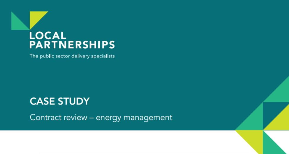 CASE STUDY: Contract review – energy management