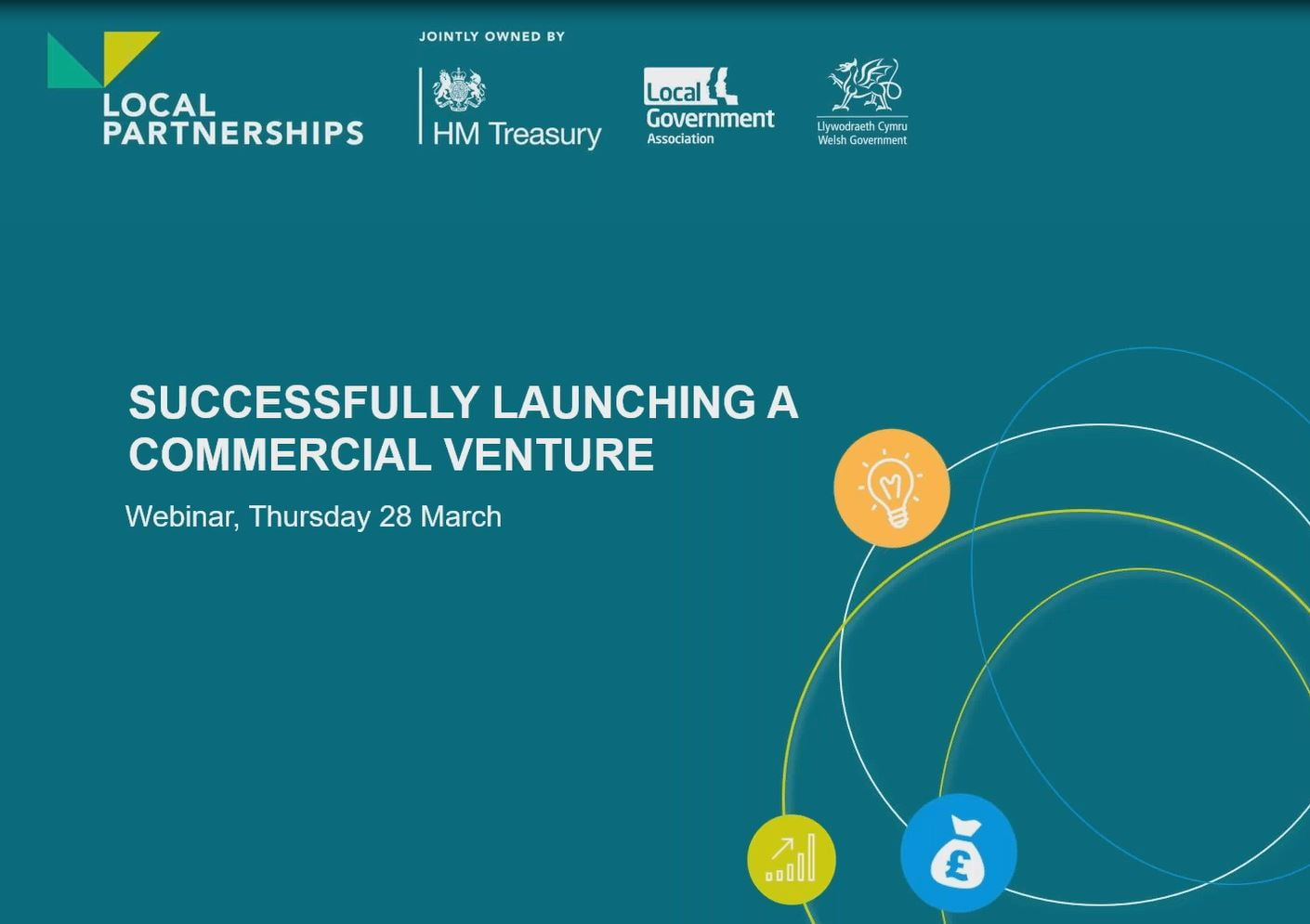 WEBINAR: Successfully launching a commercial venture